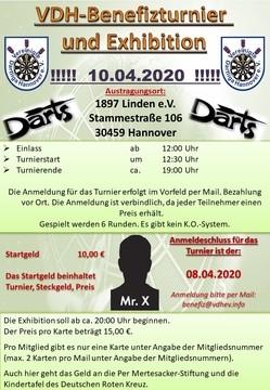 VDH-Benefizturnier und Exhibition am 10.04.2020